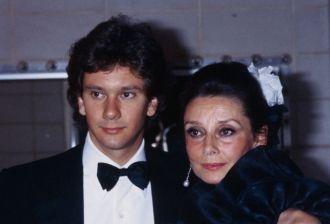 Audrey Hepburn and Sean Ferrer