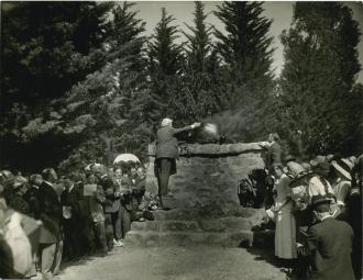Joaquin Miller funeral