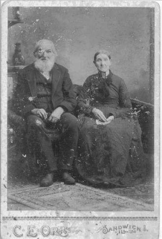 William & Lucina Hart, Illinois 1899
