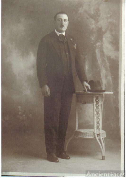 Alfio Spadaro in suit