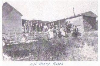 Honey Family, New Mexico 1915
