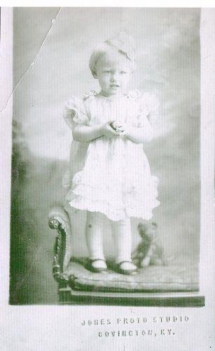 Wilma Faye (Atha) Reed, 1928