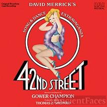 "Tammy Grimes,  ""42nd Street."""