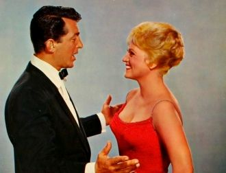 Judy Holliday and Dean Martin
