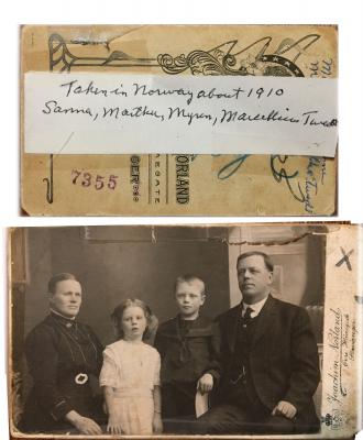 Twedt Family Norway 1910