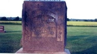 Charles and Abigial Franks Tombstone