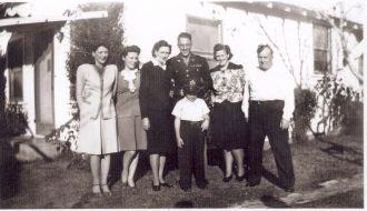 Benjamin Byron Masters family 1948