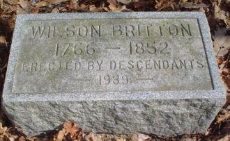 Wilson Britton Grave