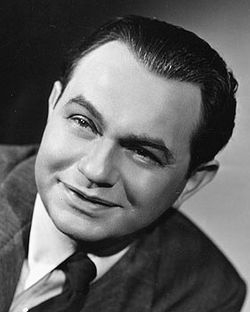 A photo of Edward G. Robinson