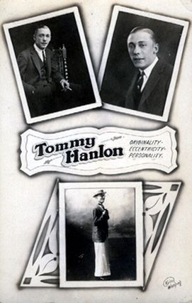 Vaudeville - Tommy Hanlon Postcard