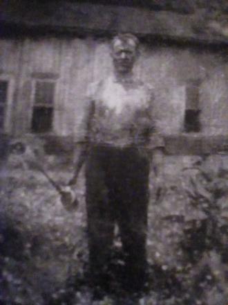 Photo of my grandfather Master Gray