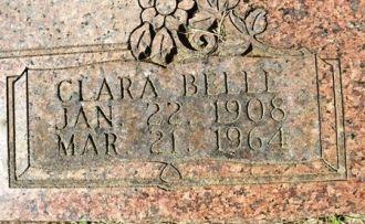 Clara Belle Young gravesite