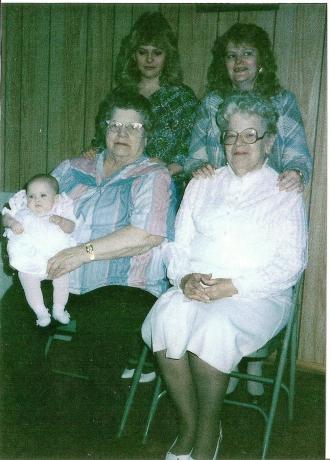 2nd 4 Generations plus Great Grandma