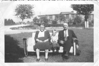 unknown couple probably taken in Cramerton NC