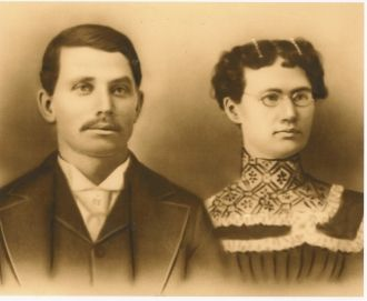 Arlie C. Coon And His Wife Lelia (Murray)