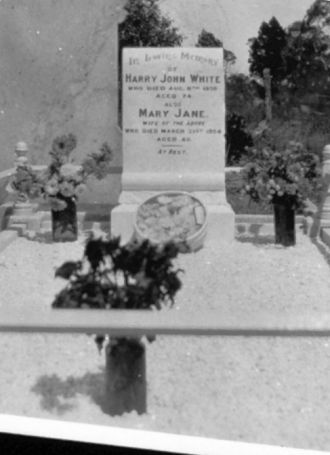 A photo of Harry John White
