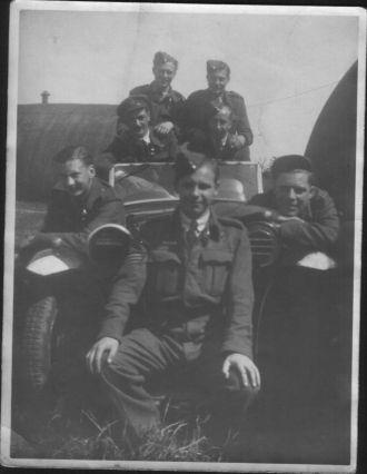 Douglas  Emmott & air crew