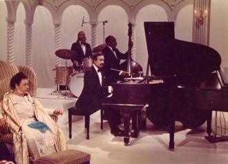 Mabel Mercer and Bobby Short, pianist