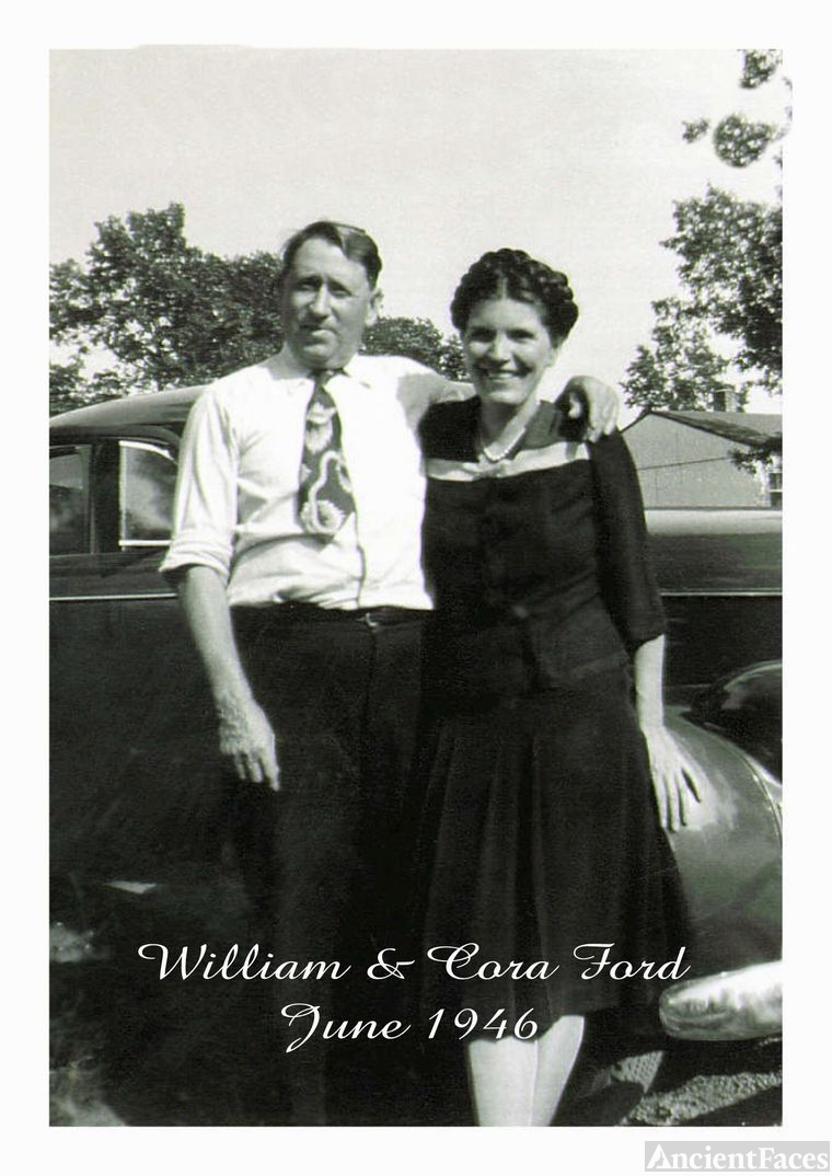 "William H. Ford & Cora ""Mullins"" Ford"