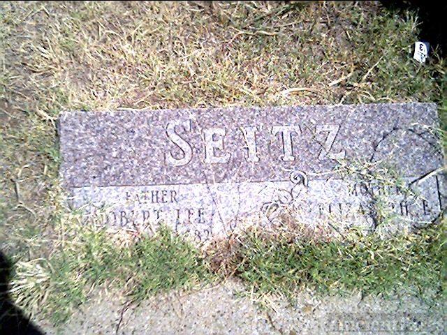 Robert Lee Seitz and Elizabeth Ewing Hopkins Seitz