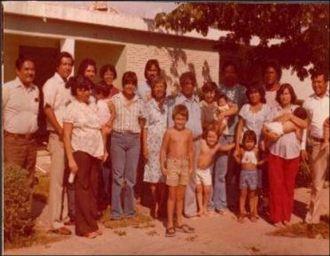 Familia Juárez en 1968