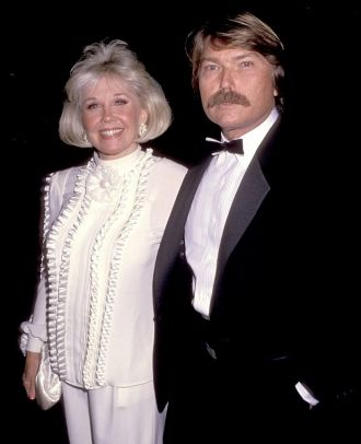 Terrence and Doris Day, party