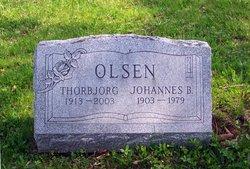 Thorbjorg and Johannes B. Olsen Gravesite