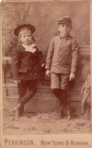 Frank and Harold Depew c. 1888