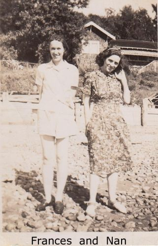 Frances Drysdale and Nancy Haight