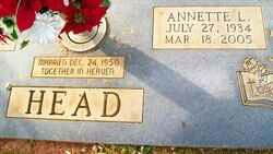 Annette (Lankford ) Head