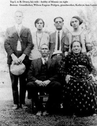 Pridgen and Lanier Family Group