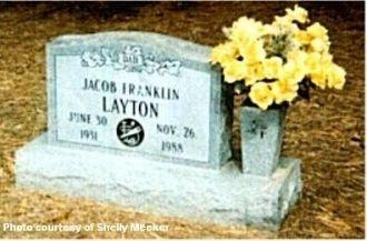 Jacob Franklin Layton 1931-1988