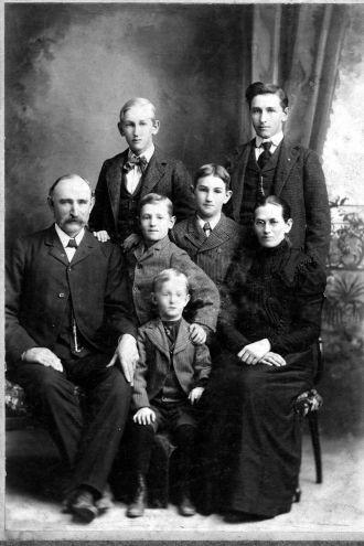 Fred Jensen Family Photo