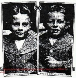 James & Walter Van Billiard, South Africa 1912