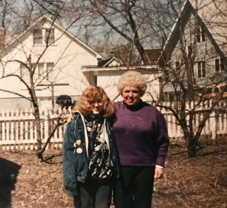 Anne Rue and Amee Donajkoski