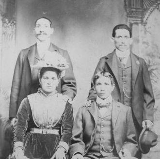 Lamanna family from Carpanzano Italy