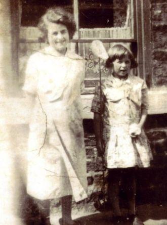 Eunice Bowman & Harriet Dixon, 1930