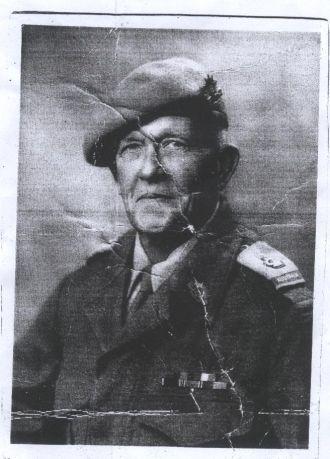 A photo of Major Hardwick