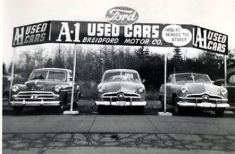 Breidford Motor Company, Used Cars