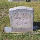 Geneva L. Avery gravesite