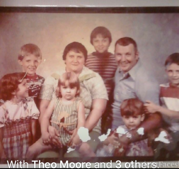 Victor R Moore and family