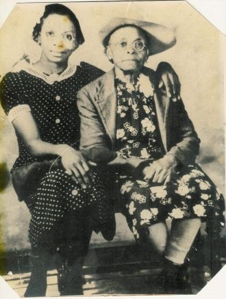 Lorene Jennings and mother