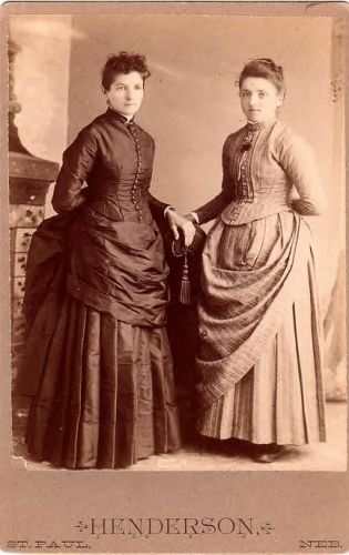 Kate and Lizzie Lahowetz