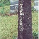 Headstone of James Hogan Bull