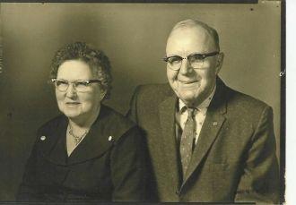 Elsie (Carr) & John I. Tyree's 50th Anniversary