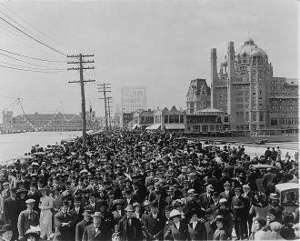 Atlantic City Boardwalk 1911