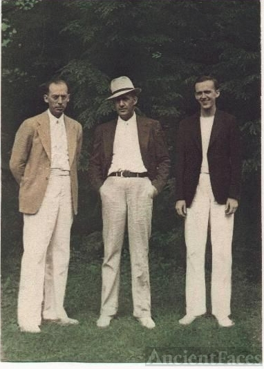 Lester, George and Charles Wayne Kirkland