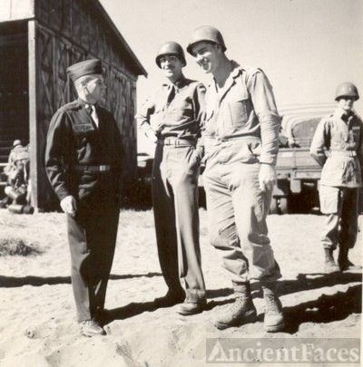 Majors O'Neil and Crossman, and Wm. S. Sinclair