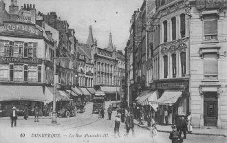 Postcard of Dunkerque, 1918