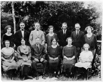 William and Bertha Warneke Family